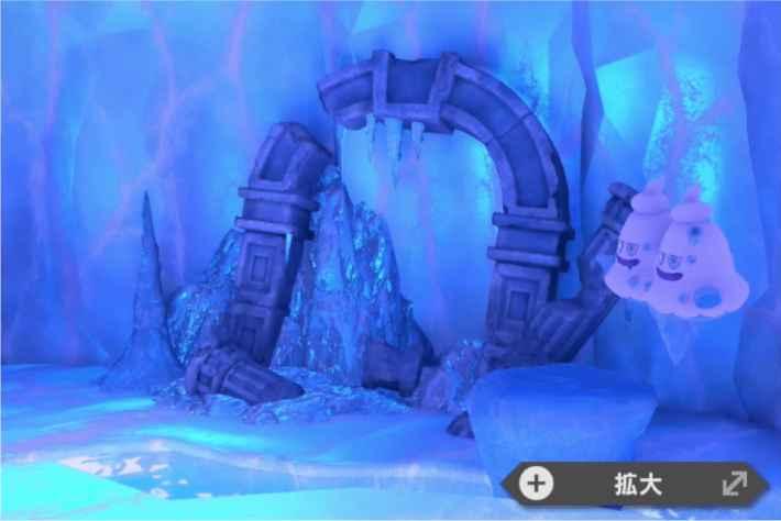 雪原の古代遺跡
