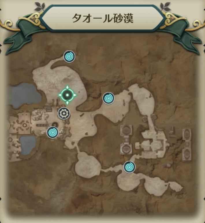 デザブー戦士マップ1