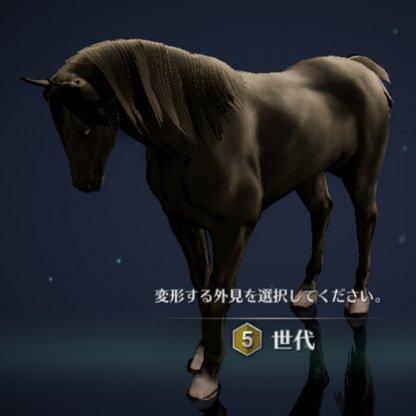 5世代馬1