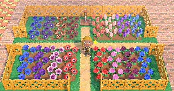 あつ森 全種類の花
