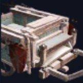 白い荷馬車