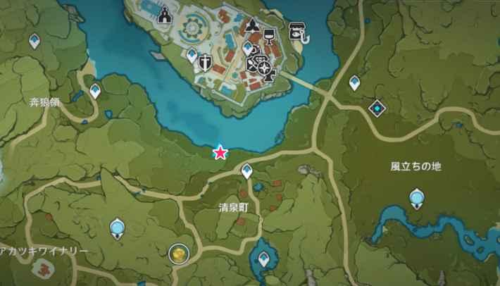 モンド釣り場シードル湖2