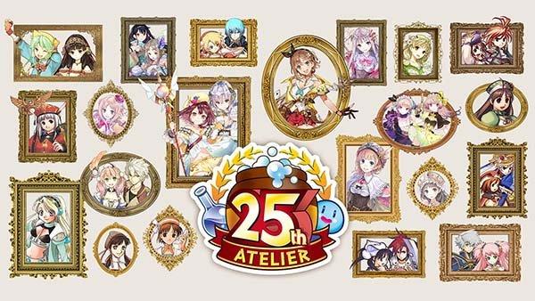 『アトリエ』シリーズ25周年記念サイトがオープン!の画像