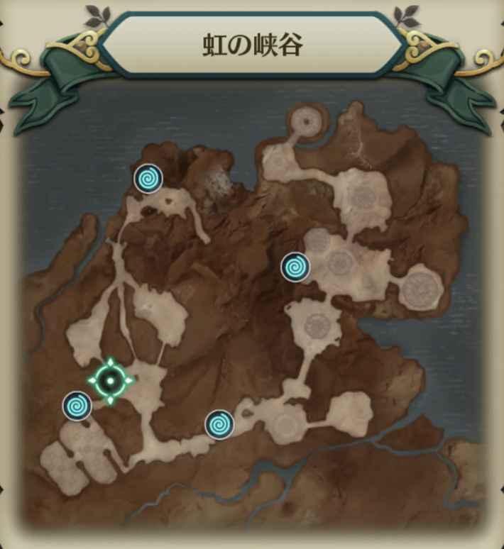 赤胴の戦士マップ8