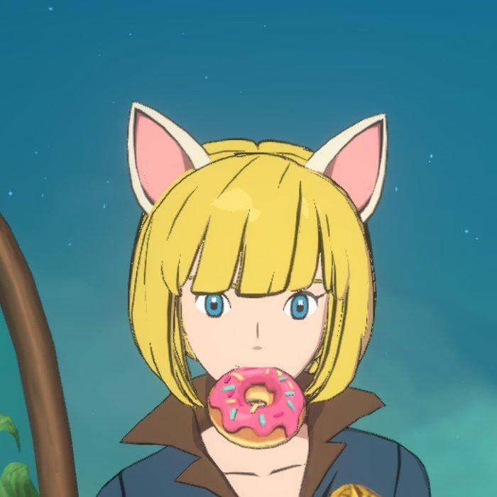 ウィッチのドーナツ画像