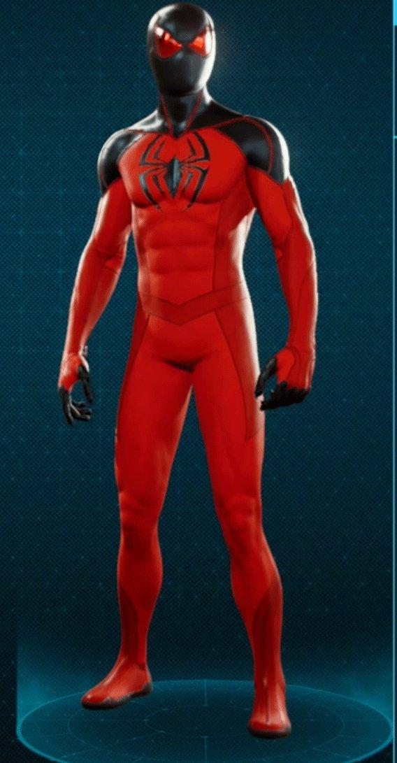 スカーレットスパイダー2スーツ