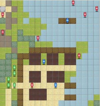 8-2:邪竜の叫びのマップ画像