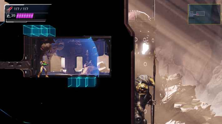 METROID DREAD(メトロイド ドレッド)新アクション パルスレーダー