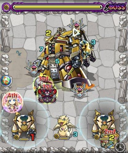 ドクターゾルゲ【極】ボス3