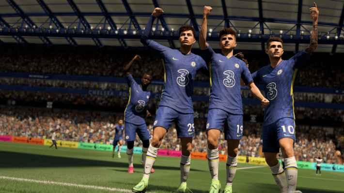 FIFA 22 キャリアモードの画像
