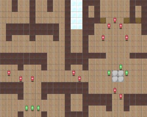 7-6:ツインキャッスルマップ画像