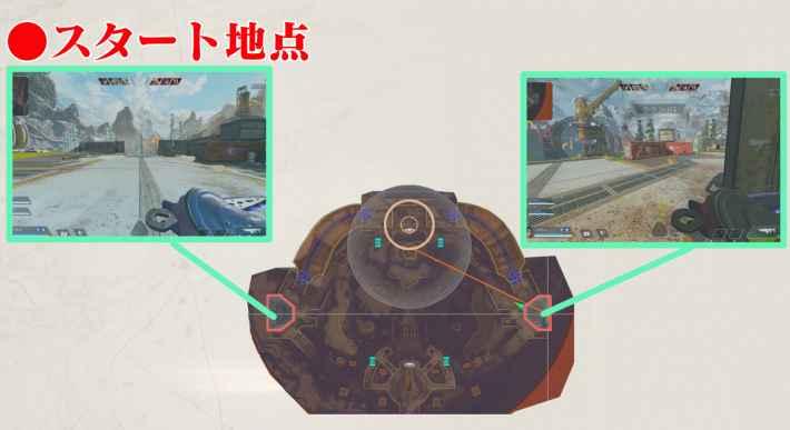 フェーズランナーのマップ画像