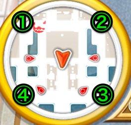 宝箱が出現する順番