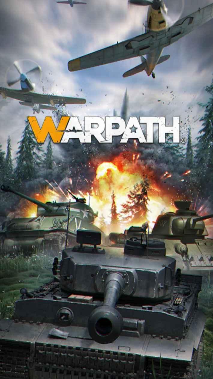 WARPATH-武装都市- タイトル画面