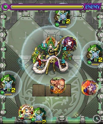 緑剣の支配者ステージ4