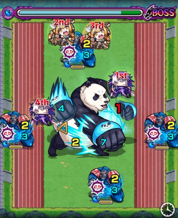 パンダ【究極】のボス1