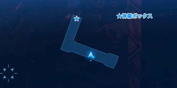 地上190m付近のマップ