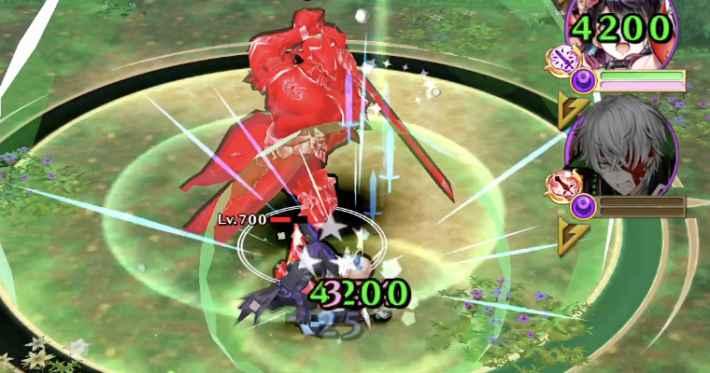 赫焉の騎士の攻撃は優先して回避