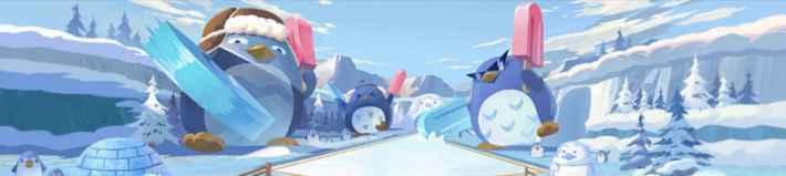 氷雪のペンギン島