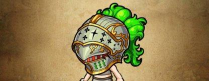 地翠業の緑宝兜