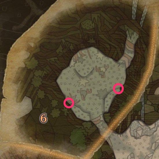 森林地帯の鉱脈1