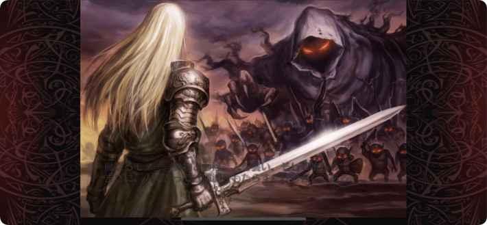 千年戦争アイギス ストーリー画面