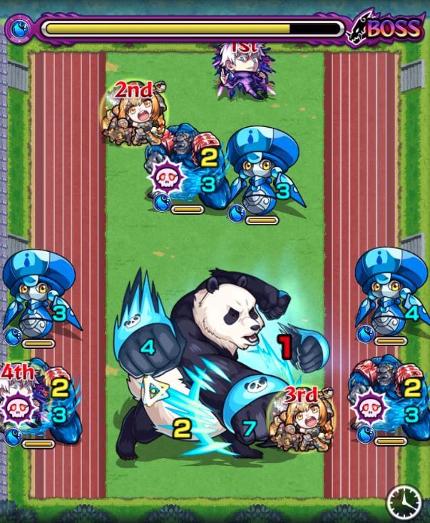 パンダ【究極】のボス3