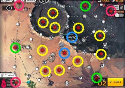 虚数迷宮ランキングマップ