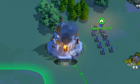 戦力が少なくなったら攻城部隊を派遣