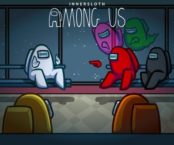 Among Usのゲーム内シーン