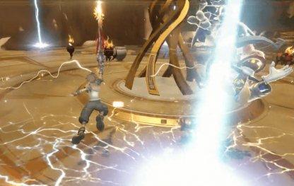 魔法攻撃時の画像