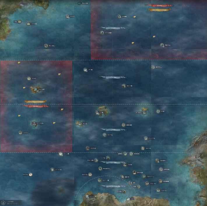 大洋マップ