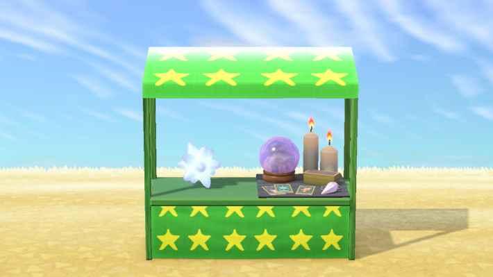 星占いの屋台