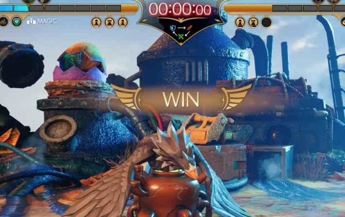 コンドルフォートの勝利画面