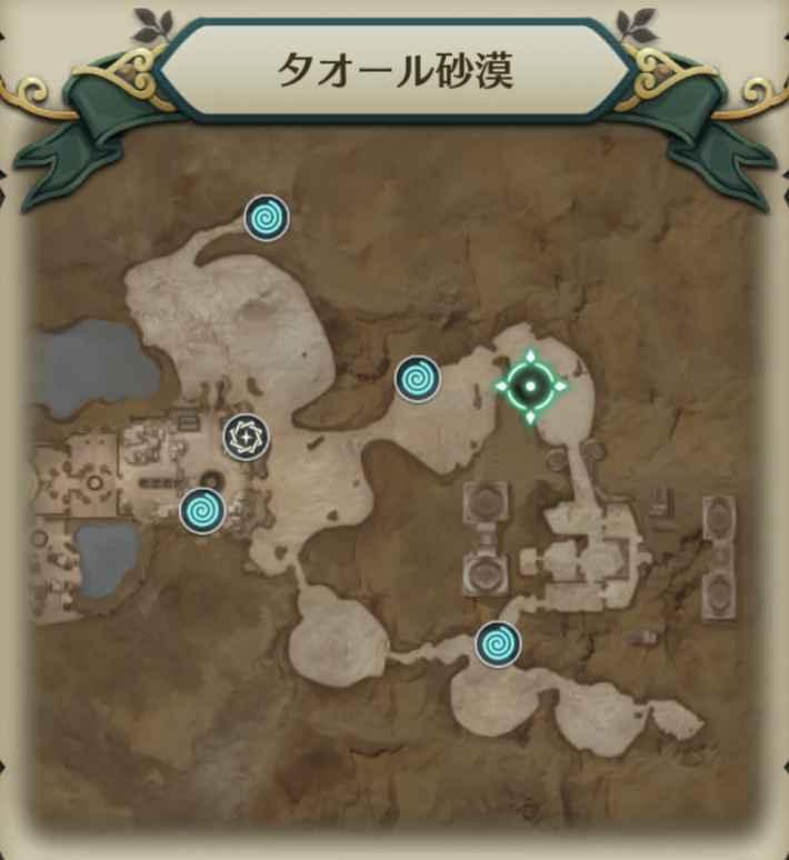 デザブー狩人マップ2