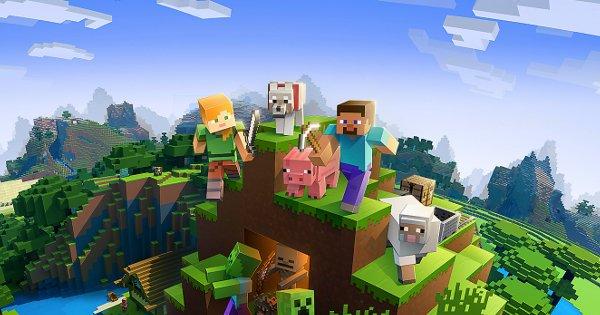 Minecraftのアイキャッチ画像