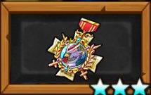 トリトリーズの勲章