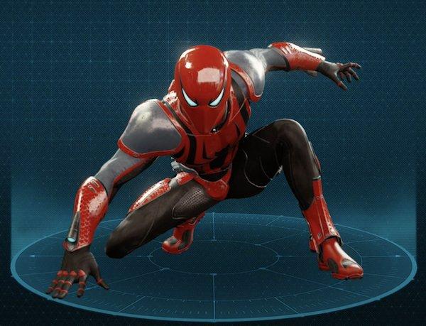 スパイダー・アーマー MK3スーツ