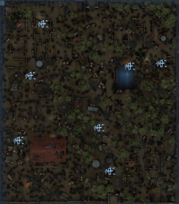 軍需工場の暗号機マップ2