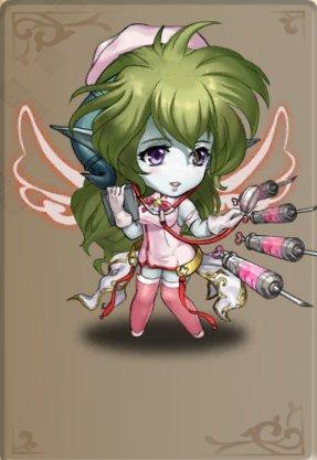 白衣の・・・天使?