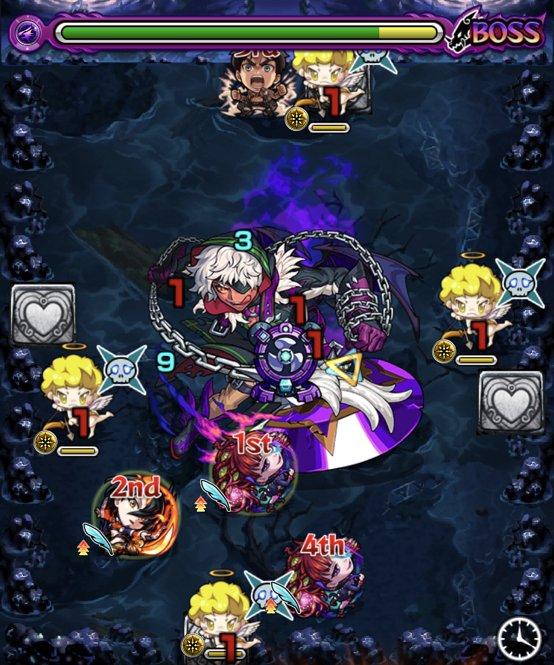 闇アマイモンのボス2