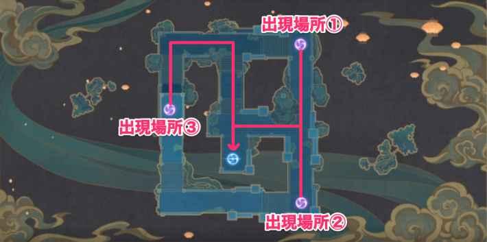 難易度7の攻略マップ