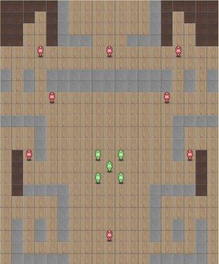 8-6:地下神殿のマップ画像