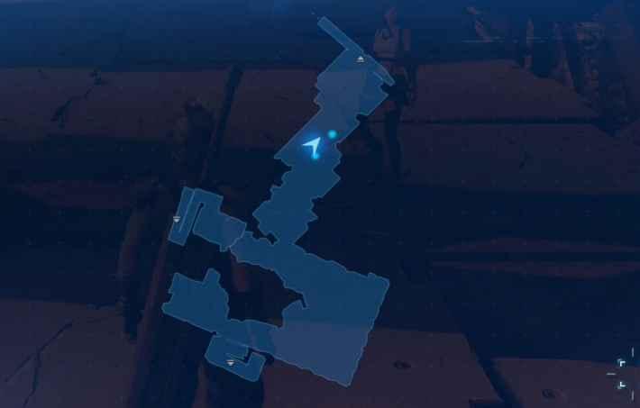 地上120m付近のマップ