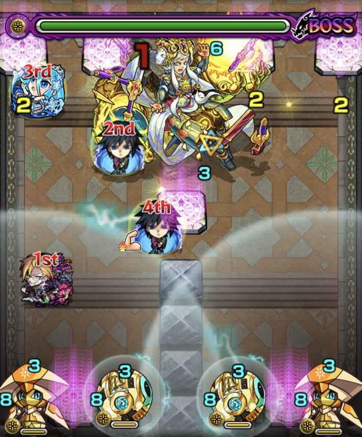 裏覇者北31-7のステージ画像