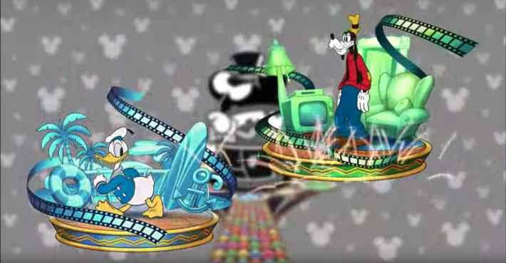 ミッキーマウス&フレンズのキャラ画像