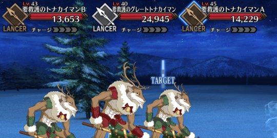 クリスマスレスキューの敵画像