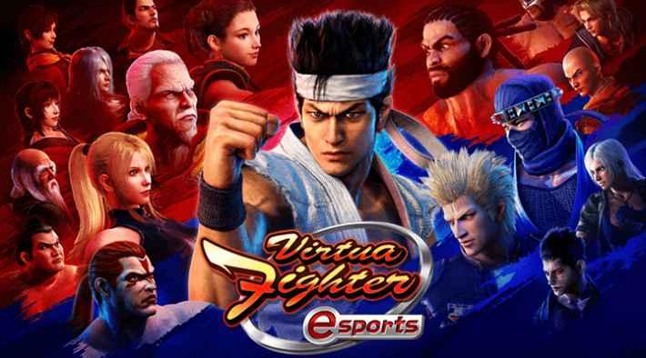 SEGA ATLUS CHANNEL Virtua Fighter esportsのアイキャッチ画像