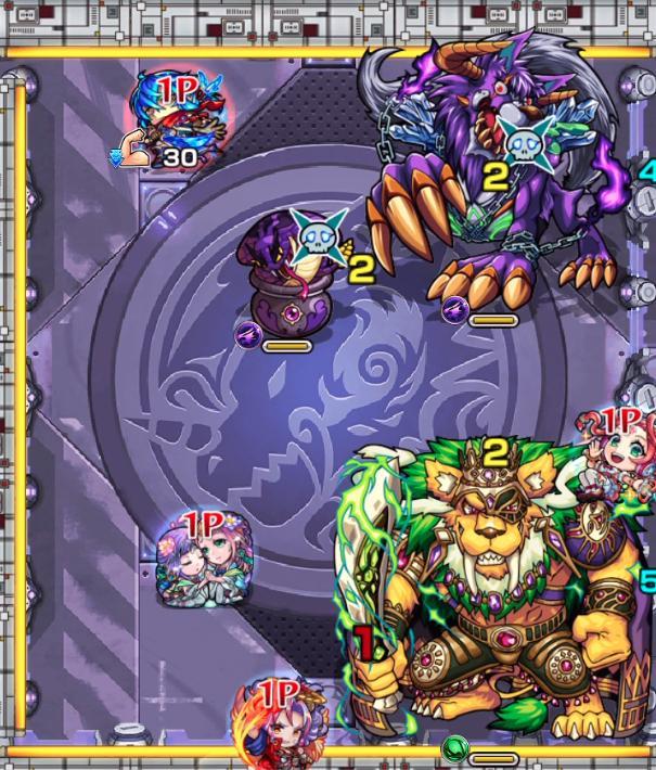 紫閃の狩人のステ3