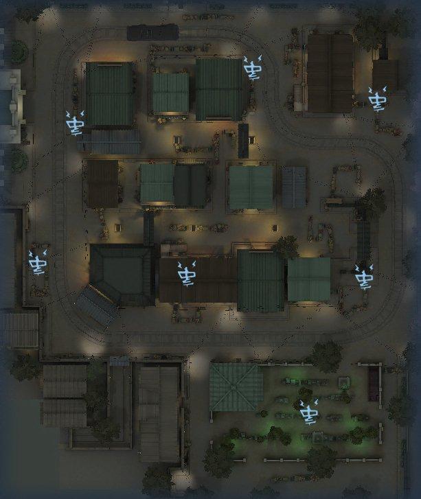 永眠町の暗号機マップ3